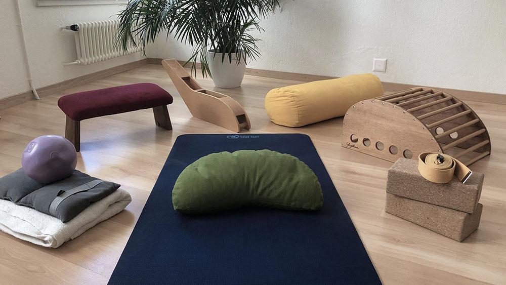 salle des cours de yoga à Neuchâtel