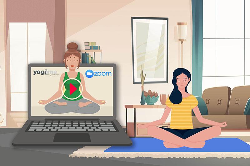 cours de yoga en ligne Yogâme