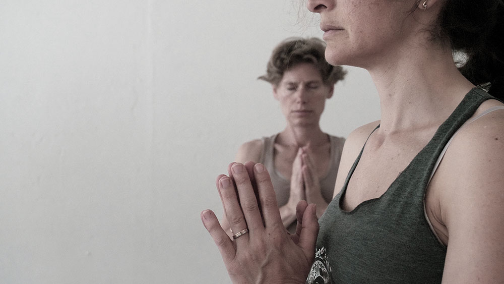 préparation cours de yoga