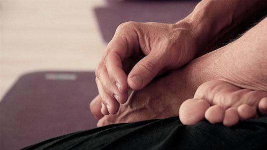 Leinad Bruderer posture de Yoga