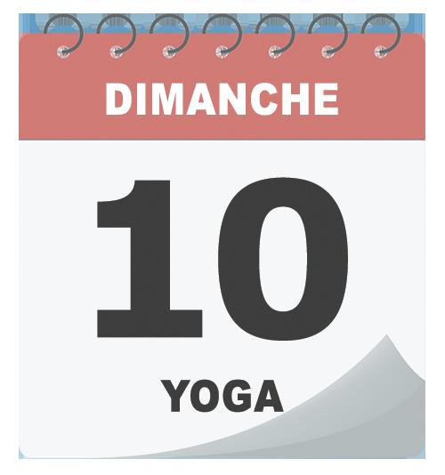 Cours de yoga le dimanche