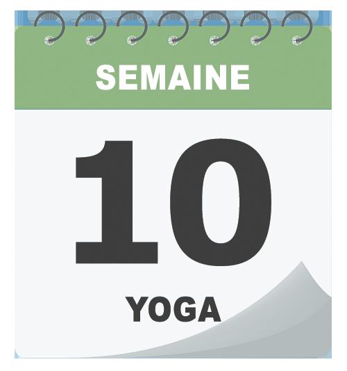 Cours de yoga en semaine
